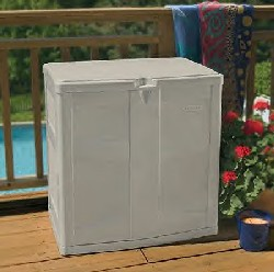 Balcony boxes take little space. They are usually taller perfect for storing your balcony or deck tools outdoor equipment etc. & Outdoor Storage Containers Suncast Deck Box Boxes